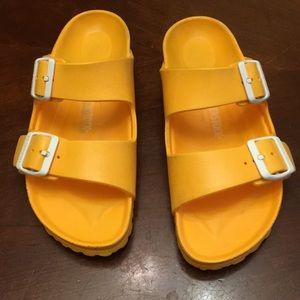 Birkenstock yellow sandals size38